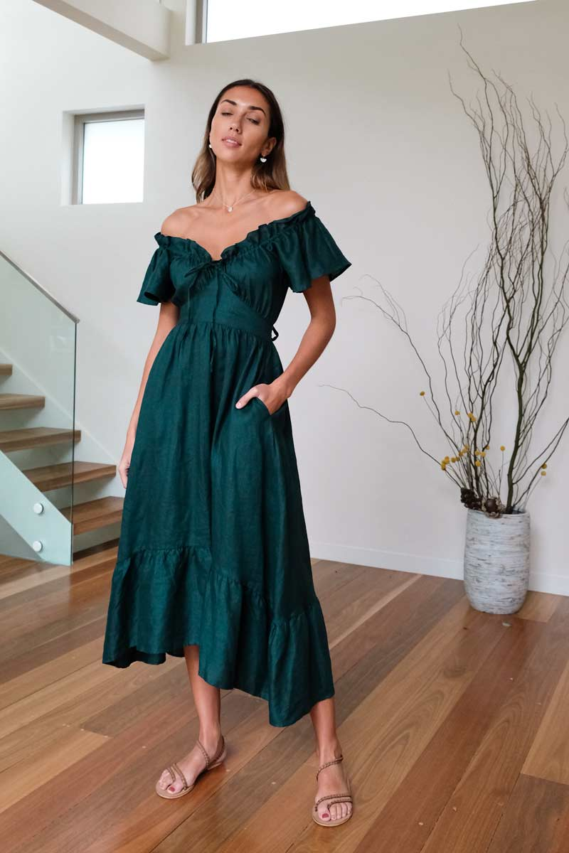Tiffany Emerald Dress