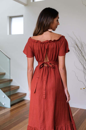 Tiffany Burnt Sienna Dress