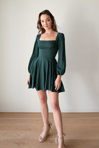 Everly Rust Dress