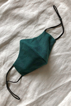 Emerald fitted mask