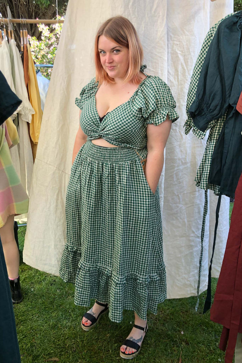 Elyse Emerald Dress