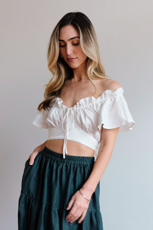 Bonnie Cream Top