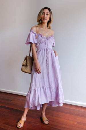 Tiffany Lilac Dress
