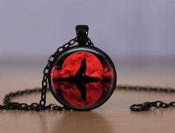Blood Moon Wolf Pendant Necklace - Limited Edition -