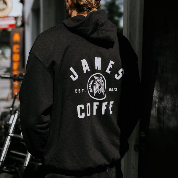Circle Logo Champion Zip-Up James Coffee Co.