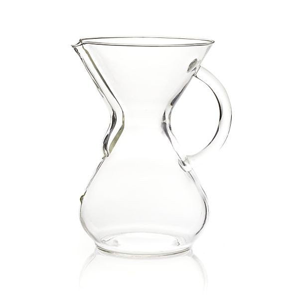 8 Cup Glass Handle Chemex Coffee Maker