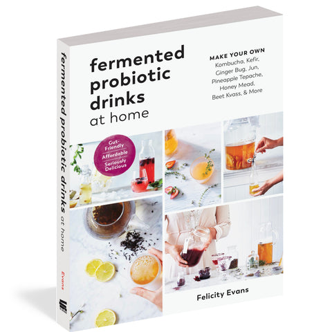 Fermented Probiotic Drinks At Home The Experiment Publishing