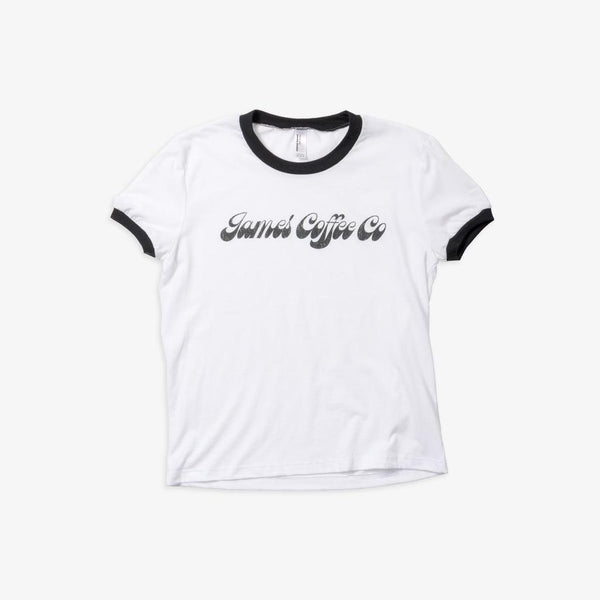 James Coffee Co. Women's Ringer Shirt