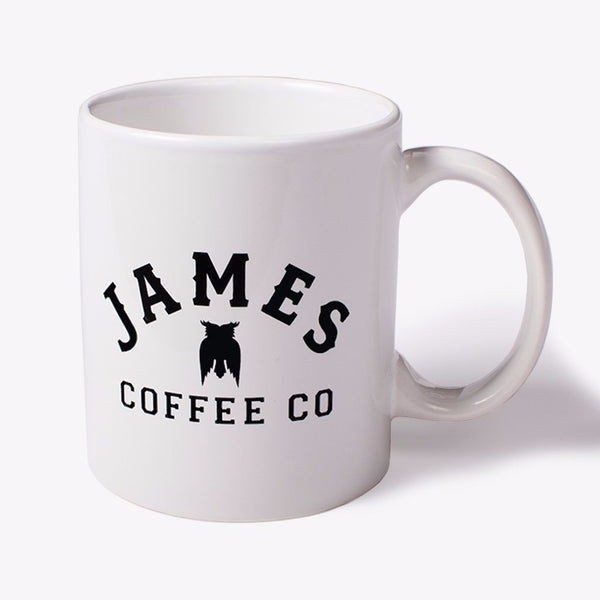 James Coffee Co. Logo Mug