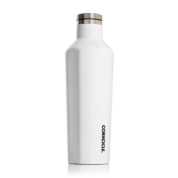 Corkcicle Canteen Gloss White 16 oz