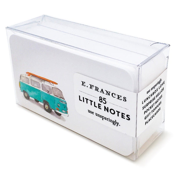 E. Frances Paper Surf Bus Little Notes