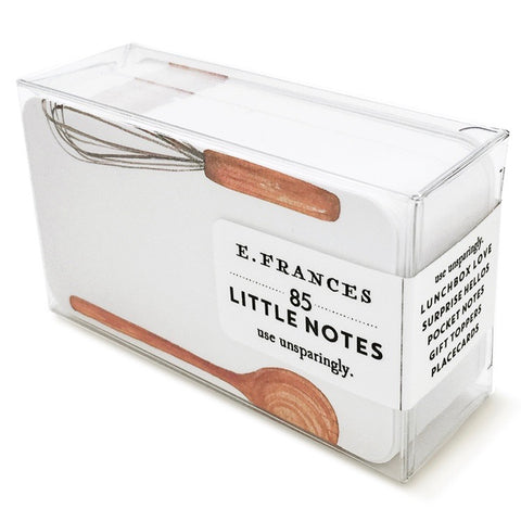 E. Frances Paper Whiskey Business Little Notes