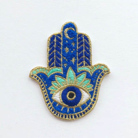 Hamsa Chenille Patch Idlewild Co. James At Home