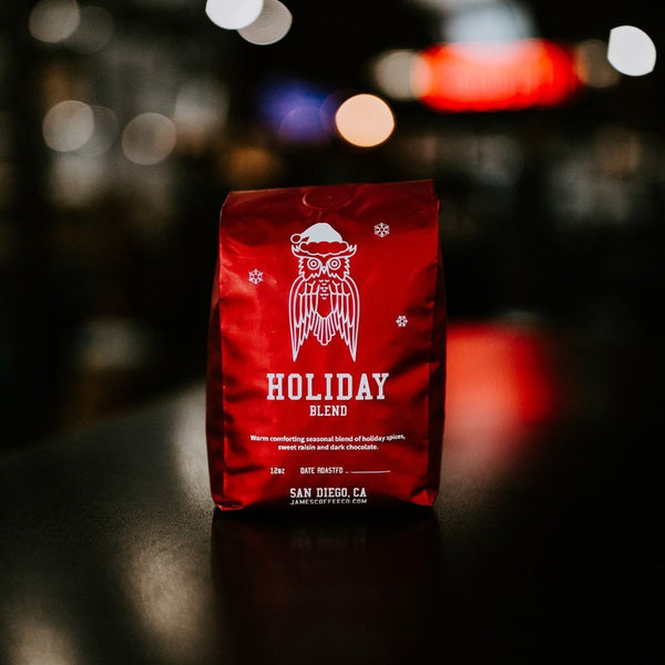 Holiday Blend James Coffee Co. James At Home
