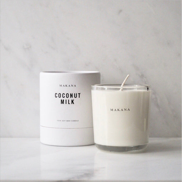Coconut Milk 10oz Candle Makana James At Home