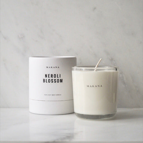 Neroli Blossom 10oz Candle Makana James At Home