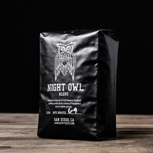 James Coffee Co. Night Owl Coffee Beans