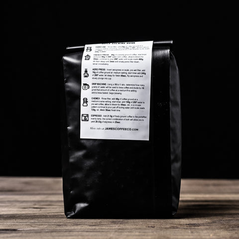 James Coffee Co. Night Owl Coffee Beans Bag