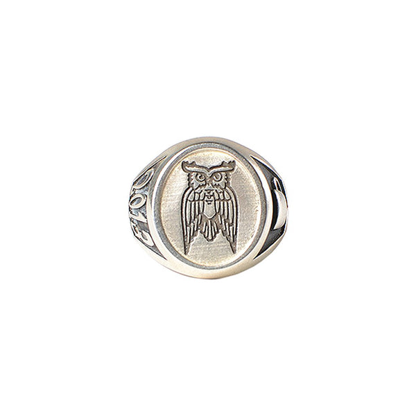 Sterling Silver Owl Ring James Coffee Co.