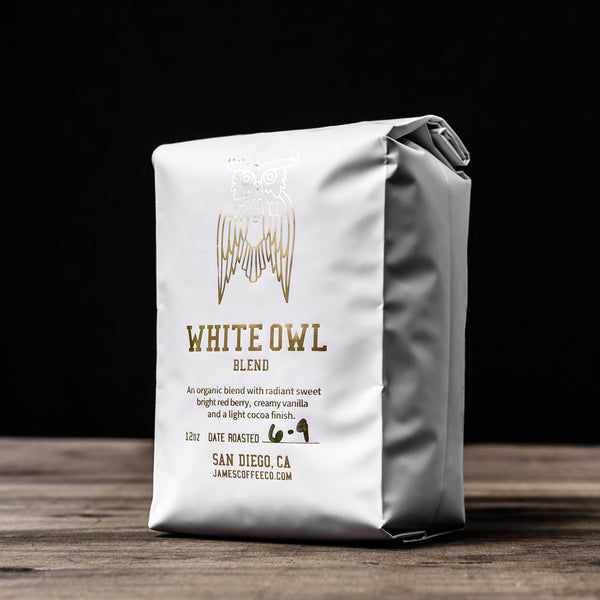 James Coffee Co. White Owl Coffee Beans