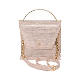 Gold Beige Mini Nova Top Handle