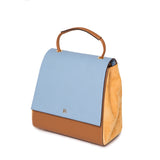 Sky Blue and Tan Luna Back Pack
