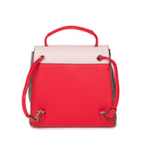 Powder Pink and Rouge Red Luna Back Pack