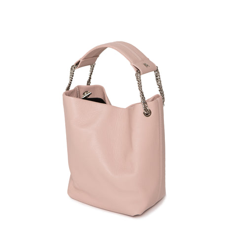 Powder Pink Leia Bucket Bag