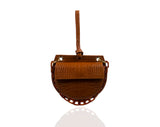 Tan Semi Round Tania Bag