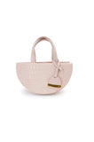 Blush Half Moon Reina Bag