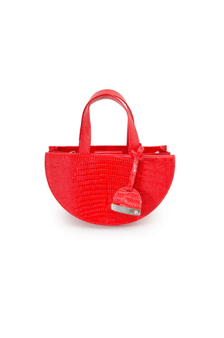 Hot Red Half Moon Reina Bag