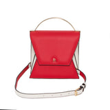 Rouge Red and Cream Mini Nova Top Handle