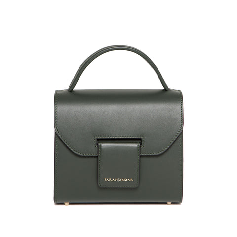 Petrolium Green Mini Steffany Tote