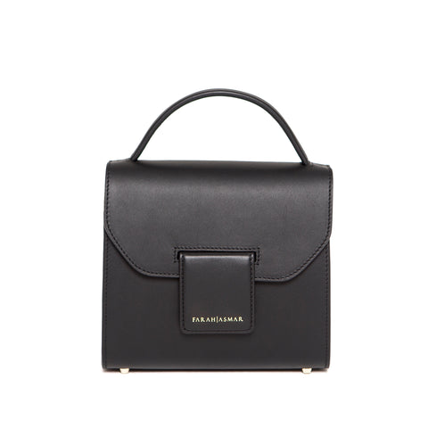 Black Mini Steffany Tote