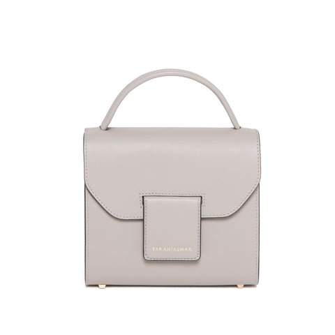 Stone Gray Mini Steffany Tote