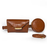 Tan Celina Belt bag