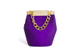 Purple Valerie Mini Bucket