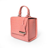 Rose Pink Charlotte box bag