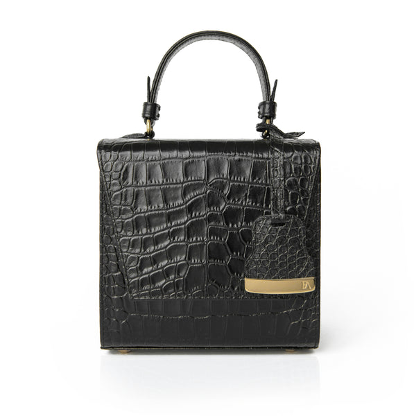 Black Charlotte box bag
