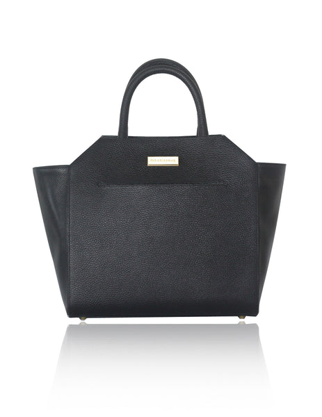 Black Medium Sharon Tote