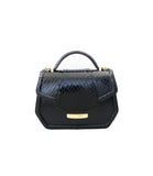 Black Water Snake Mini Anabella Tote