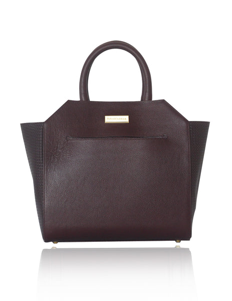 Bordeaux Medium Sharon Tote
