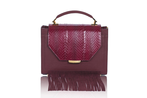 Bordeaux Steffany Top Handle