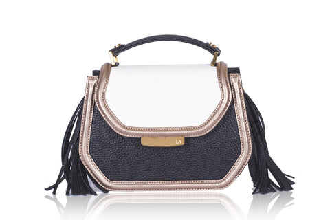 Cream & Black Mini Anabella