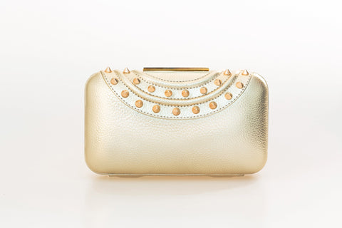 Gold Gina Clutch