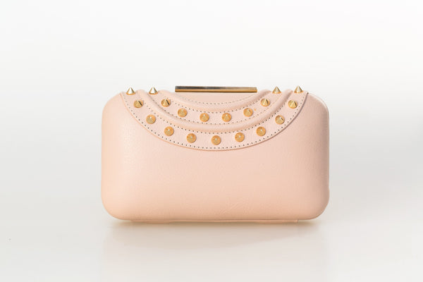 Powder Pink Gina Clutch