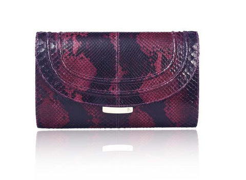Cherry Red Jeeda Clutch