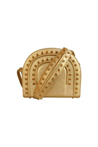 Gold Thalia Cross Bag