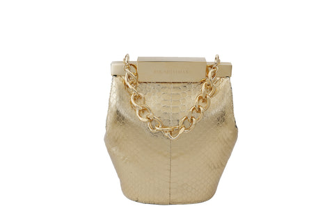 Gold Valerie Mini Bucket