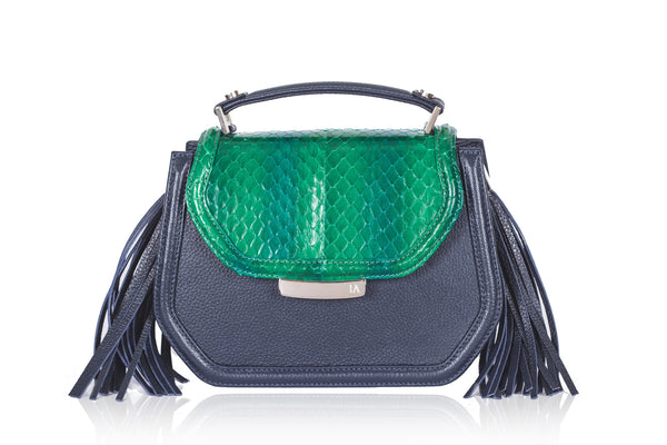 Green & Navy Mini Anabella